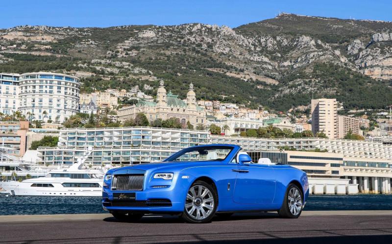 Rolls-Royce DAWN V12 6.6 571CH Essence BLEU Occasion à vendre