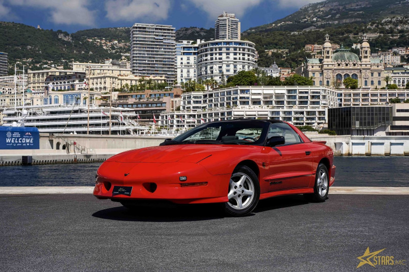 Pontiac TRANS AM 5.7 V8 BA Essence ROUGE Occasion à vendre