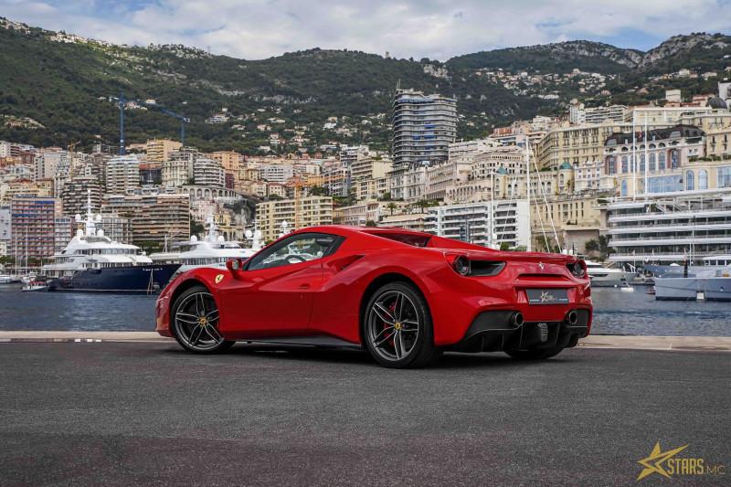 Photo 8 de l'offre de FERRARI 488 SPIDER V8 3.9 T 670CH à 239488€ chez Stars Monte Carlo