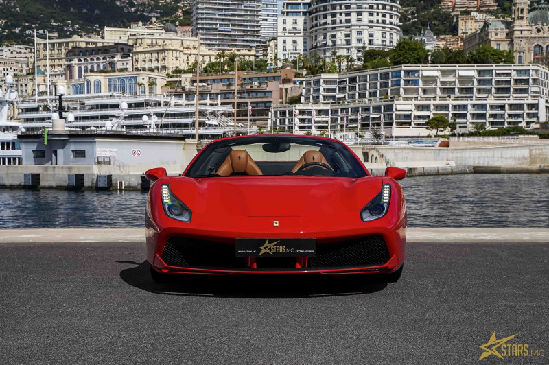 Photo 4 de l'offre de FERRARI 488 SPIDER V8 3.9 T 670CH à 239488€ chez Stars Monte Carlo