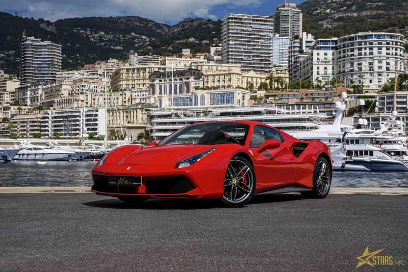 Photo 3 de l'offre de FERRARI 488 SPIDER V8 3.9 T 670CH à 239488€ chez Stars Monte Carlo