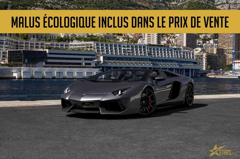 Photo 1 de l'offre de LAMBORGHINI AVENTADOR ROADSTER LP 700-4 à 315700€ chez Stars Monte Carlo