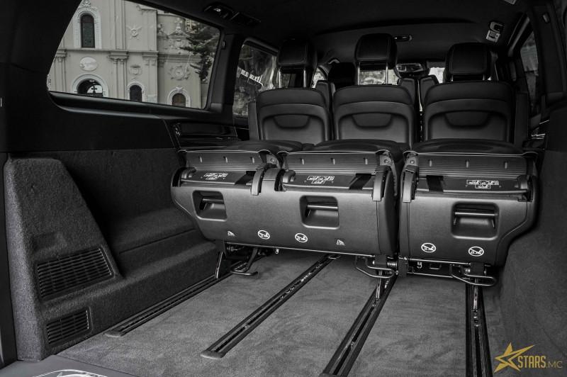 Photo 19 de l'offre de MERCEDES-BENZ CLASSE V 250 D EXTRA-LONG AVANTGARDE 9G-TRONIC 155G à 67900€ chez Stars Monte Carlo
