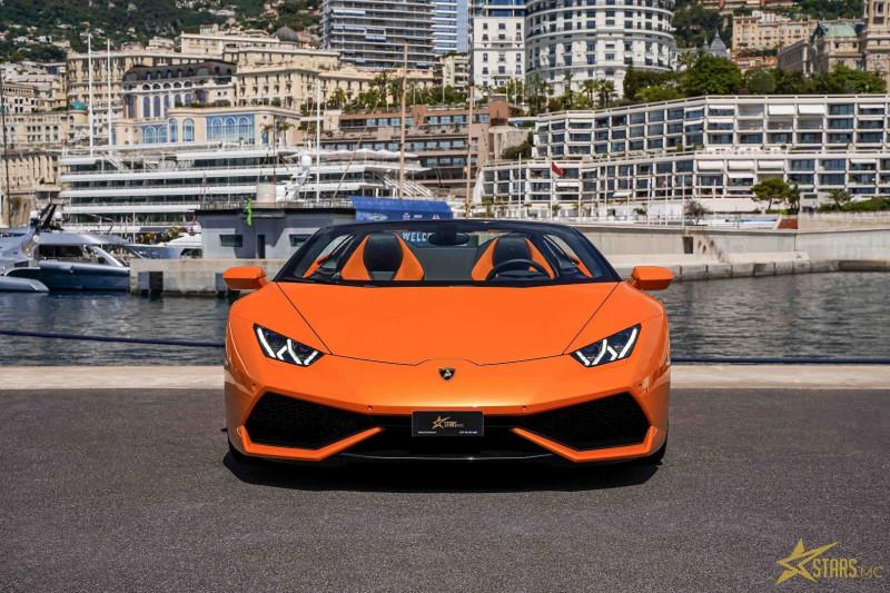 Photo 4 de l'offre de LAMBORGHINI HURACAN SPYDER LP 610-4 à 232900€ chez Stars Monte Carlo