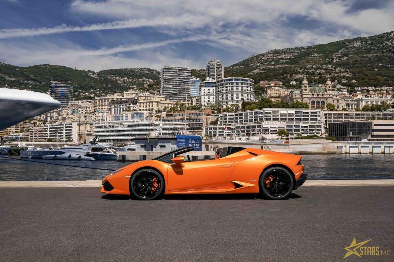 Photo 6 de l'offre de LAMBORGHINI HURACAN SPYDER LP 610-4 à 232900€ chez Stars Monte Carlo