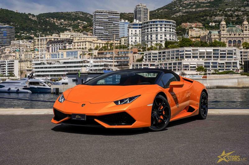 Photo 3 de l'offre de LAMBORGHINI HURACAN SPYDER LP 610-4 à 232900€ chez Stars Monte Carlo