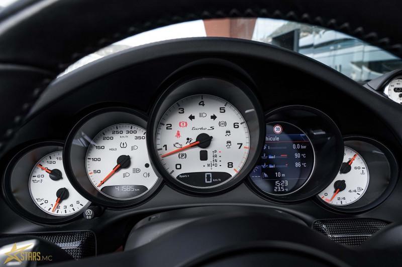 Photo 20 de l'offre de PORSCHE 911 CABRIOLET (991) 3.8 580CH TURBO S PDK à 169991€ chez Stars Monte Carlo