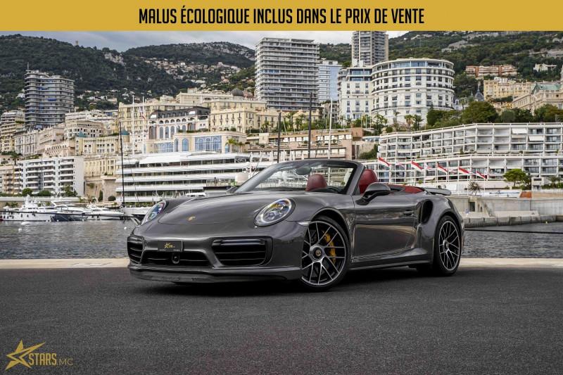 Photo 1 de l'offre de PORSCHE 911 CABRIOLET (991) 3.8 580CH TURBO S PDK à 169991€ chez Stars Monte Carlo