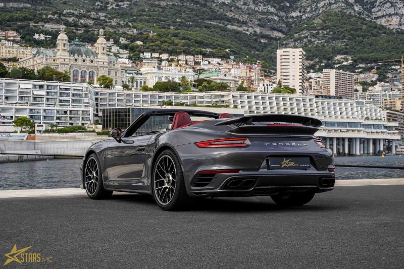 Photo 9 de l'offre de PORSCHE 911 CABRIOLET (991) 3.8 580CH TURBO S PDK à 169991€ chez Stars Monte Carlo