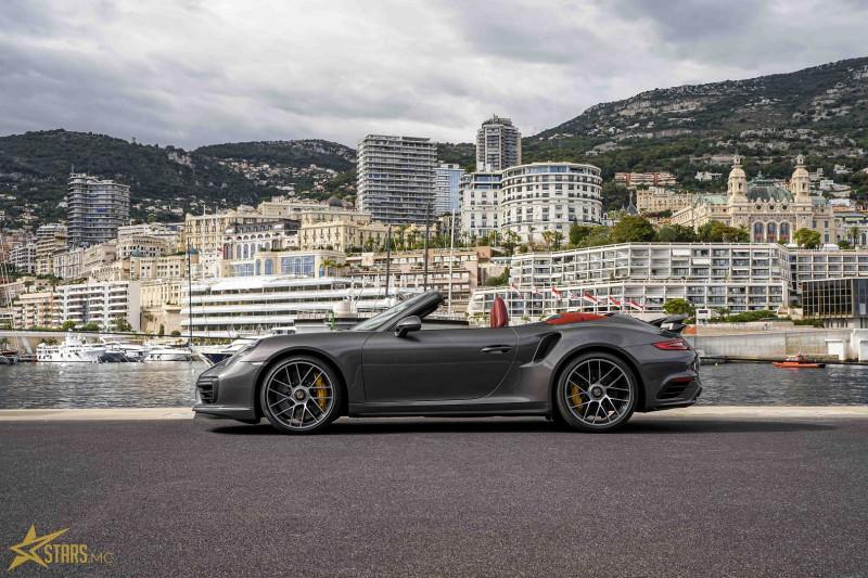 Photo 6 de l'offre de PORSCHE 911 CABRIOLET (991) 3.8 580CH TURBO S PDK à 169991€ chez Stars Monte Carlo