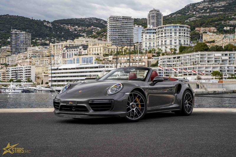 Photo 2 de l'offre de PORSCHE 911 CABRIOLET (991) 3.8 580CH TURBO S PDK à 169991€ chez Stars Monte Carlo