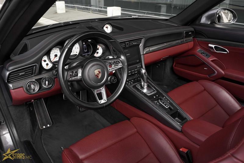 Photo 12 de l'offre de PORSCHE 911 CABRIOLET (991) 3.8 580CH TURBO S PDK à 169991€ chez Stars Monte Carlo