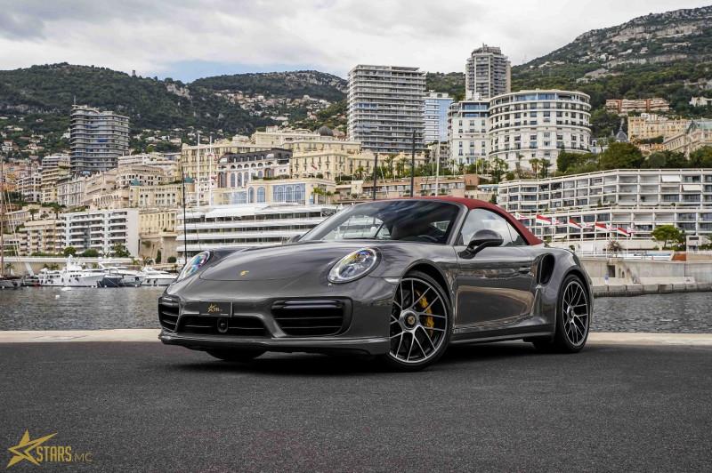 Photo 3 de l'offre de PORSCHE 911 CABRIOLET (991) 3.8 580CH TURBO S PDK à 169991€ chez Stars Monte Carlo