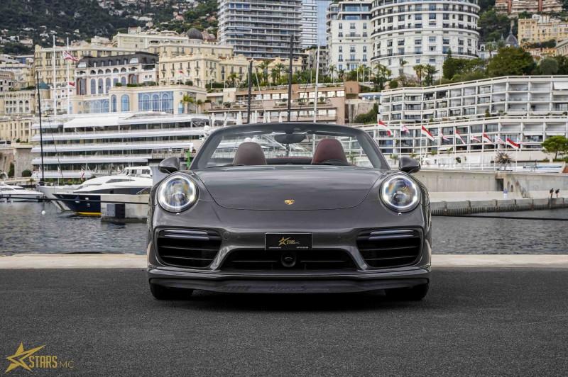 Photo 5 de l'offre de PORSCHE 911 CABRIOLET (991) 3.8 580CH TURBO S PDK à 169991€ chez Stars Monte Carlo