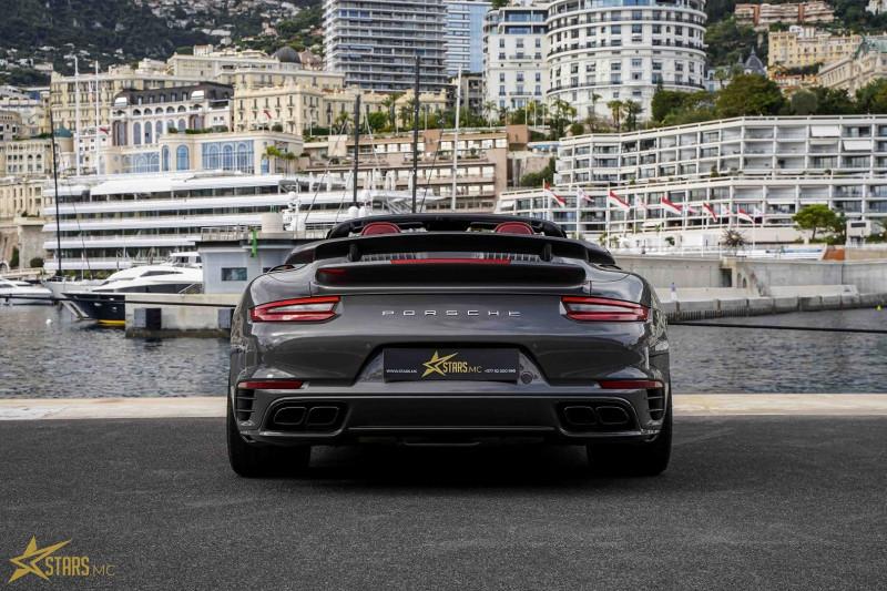 Photo 10 de l'offre de PORSCHE 911 CABRIOLET (991) 3.8 580CH TURBO S PDK à 169991€ chez Stars Monte Carlo