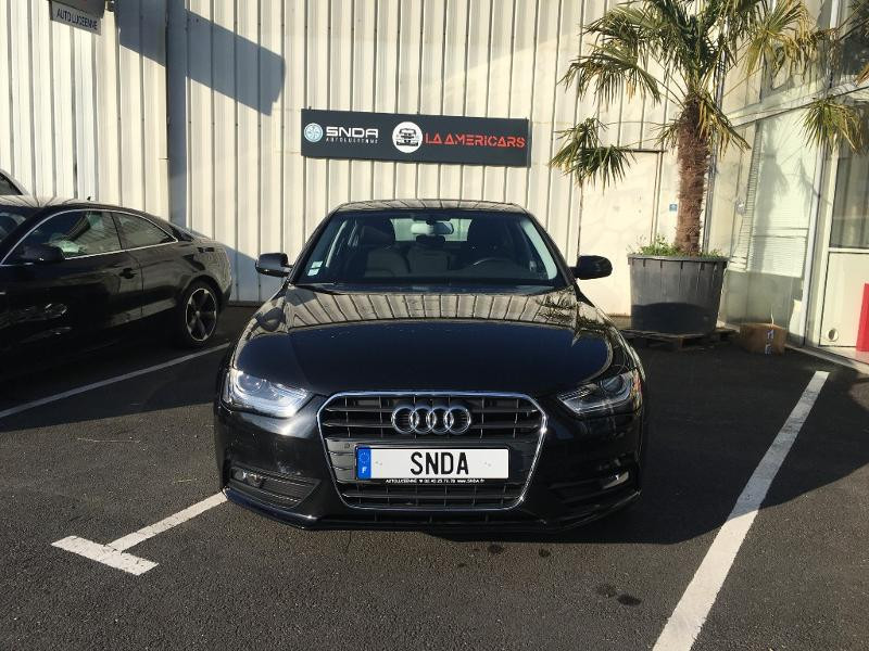 Audi A4 2.0 TDI 177ch DPF Ambiente Plus Multitronic Diesel noire Occasion à vendre
