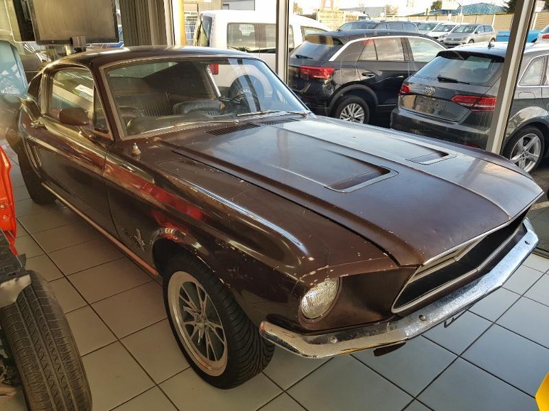 Ford Mustang Fastback v8 289 ci Essence marron Occasion à vendre
