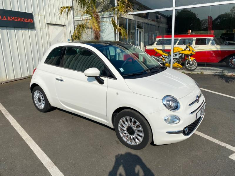Fiat 500 1.2 8v 69ch Lounge Essence BLANC Occasion à vendre