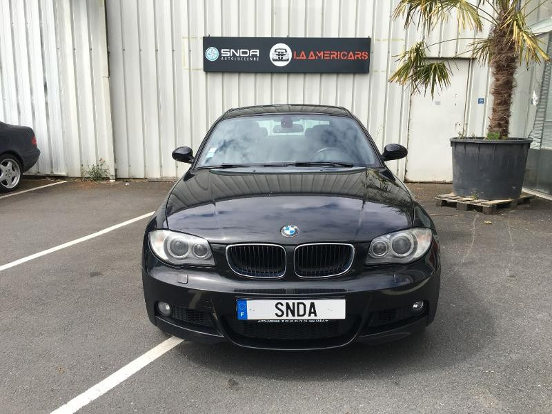 Bmw Serie 1 120d 177ch Sport Design 3p Diesel noire Occasion à vendre
