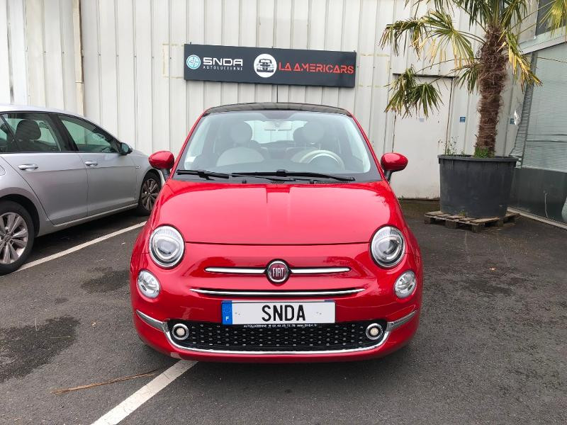 Fiat 500 1.2 8v 69ch Lounge Essence Rouge Occasion à vendre