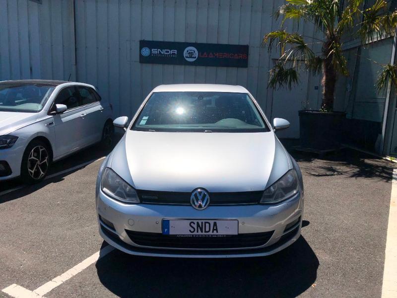 Volkswagen Golf 1.6 TDI 110ch BlueMotion FAP Confortline 5p Diesel Gris Clair Occasion à vendre