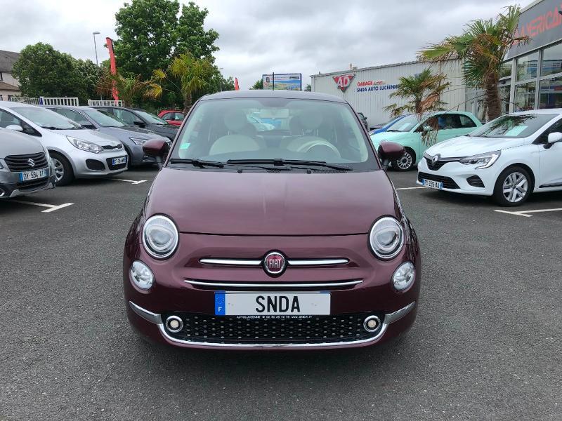 Fiat 500 1.2 8v 69ch Lounge Essence Prune Occasion à vendre