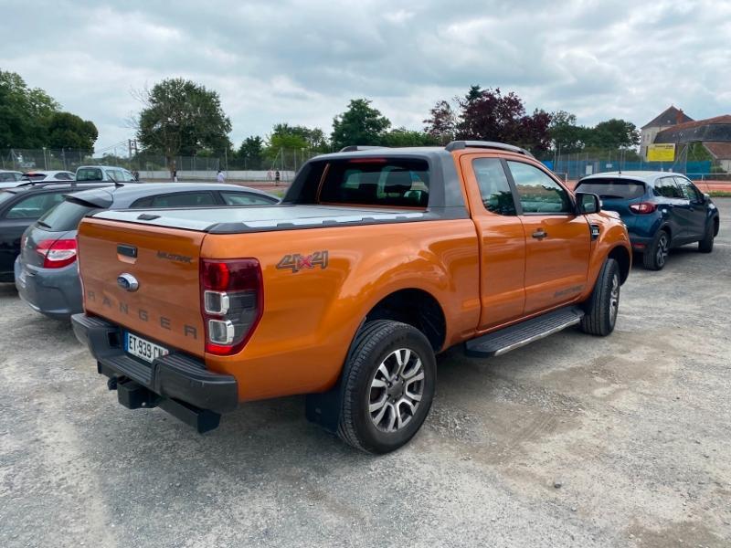 Ford Ranger 3.2 TDCi 200ch Super Cab XLT Wildtrak Diesel Orange Occasion à vendre