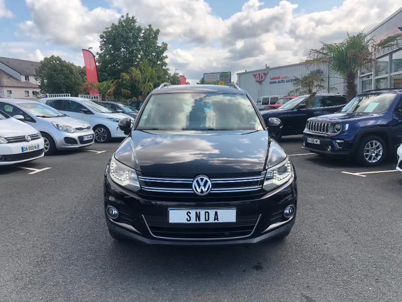 Volkswagen Tiguan 2.0 TDI 140ch BlueMotion Technology FAP Sportline 4Motion DSG7 Diesel Noir Occasion à vendre