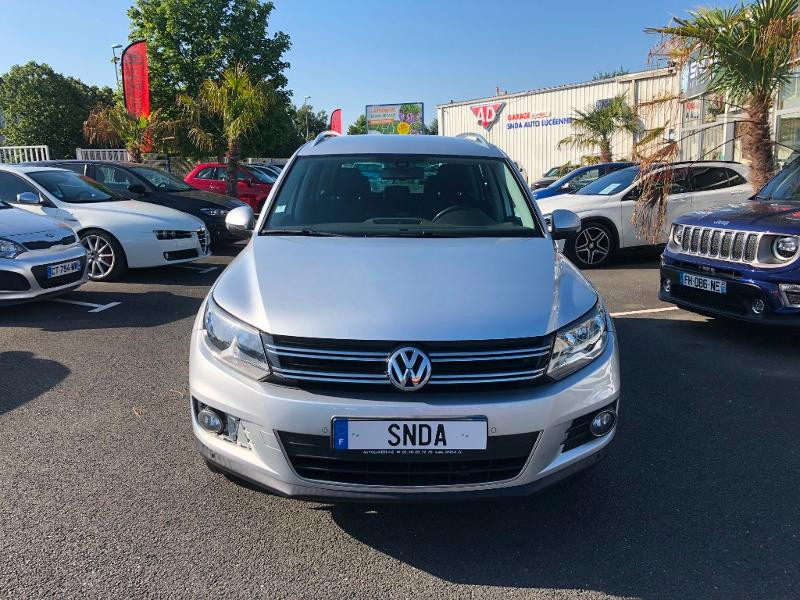 Volkswagen Tiguan 2.0 TDI 140ch BlueMotion Technology FAP Sportline Diesel Gris Clair Occasion à vendre
