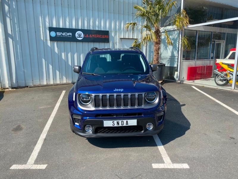Jeep Renegade 1.0 GSE T3 120ch Limited Essence BLEU F Occasion à vendre