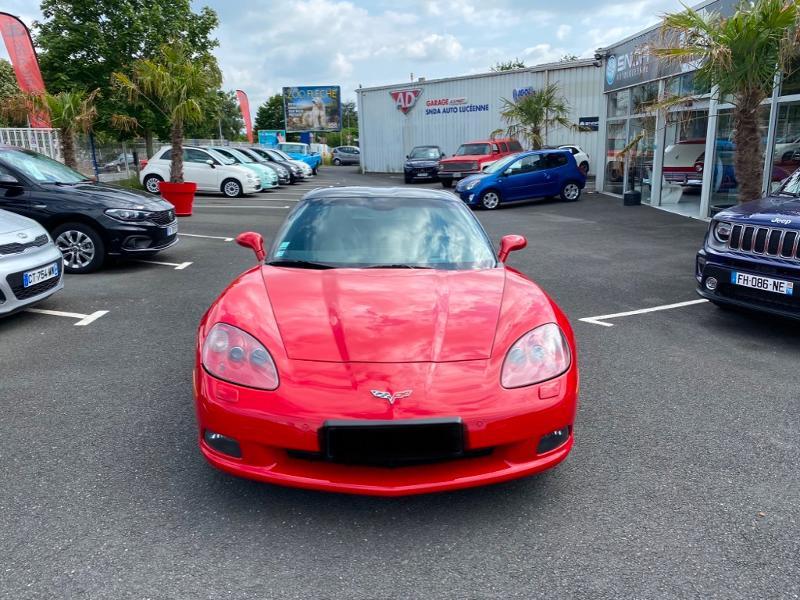 Chevrolet Corvette C6 6.0 V8 Essence Rouge Occasion à vendre