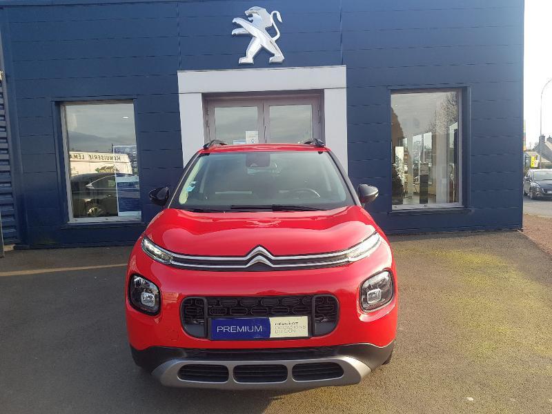 Citroen C3 Aircross BlueHDi 100ch S&S Shine E6.d-TEMP Diesel Rouge Métal Occasion à vendre