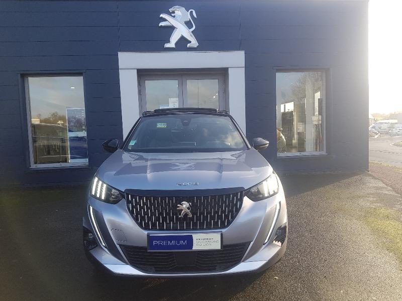 Peugeot 2008 1.5 BlueHDi 100ch S&S GT Line Diesel Gris Clair Métal Occasion à vendre