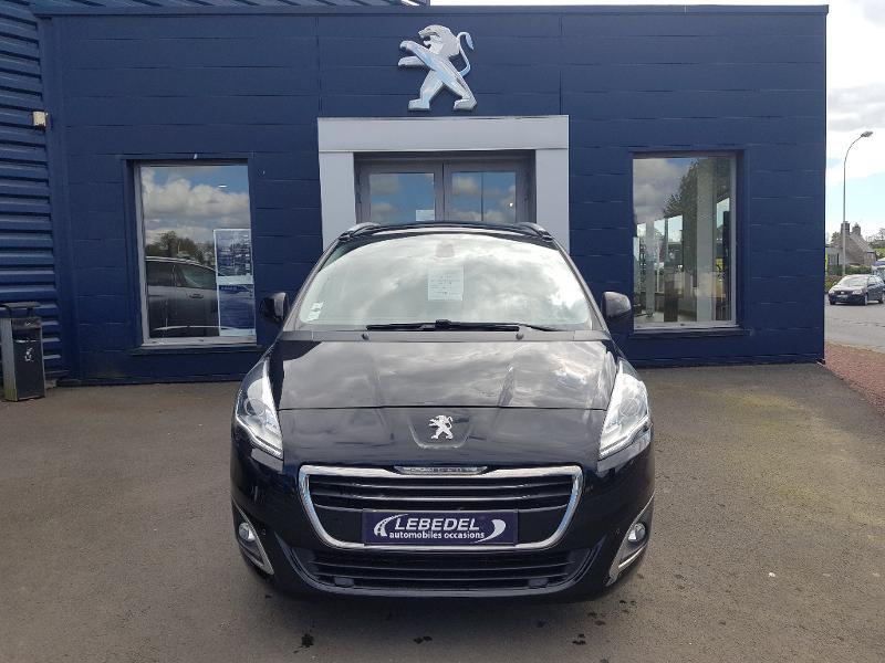 Peugeot 5008 1.6 BlueHDi 120ch Allure S&S EAT6 7pl Diesel NOIR Occasion à vendre