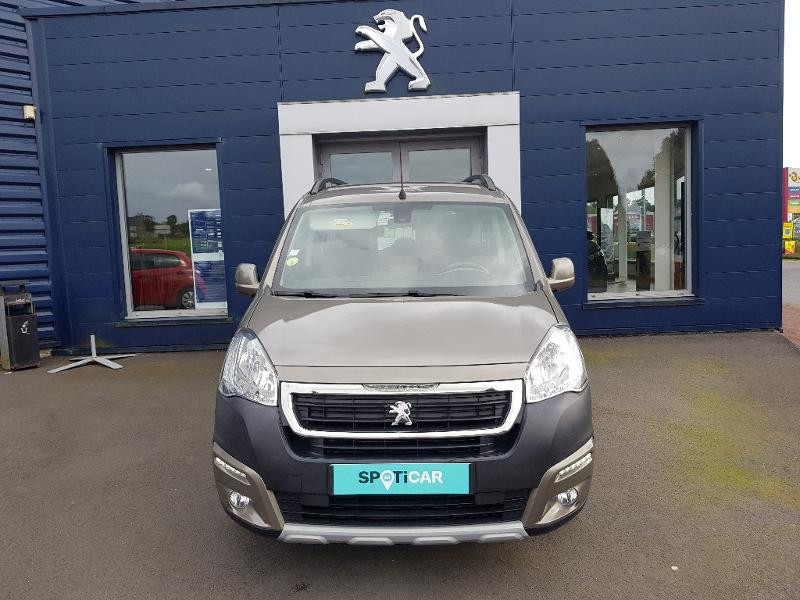 Peugeot Partner Tepee 1.6 BlueHDi 100ch Outdoor S&S Diesel JAUNE Occasion à vendre