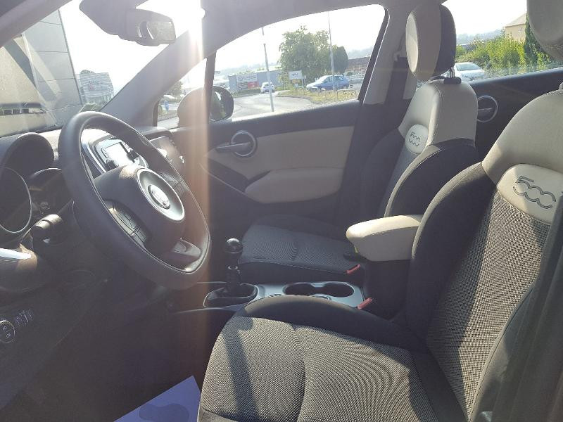 Photo 4 de l'offre de FIAT 500X 1.6 E-torQ 110ch Popstar à 13490€ chez Lebedel Automobiles