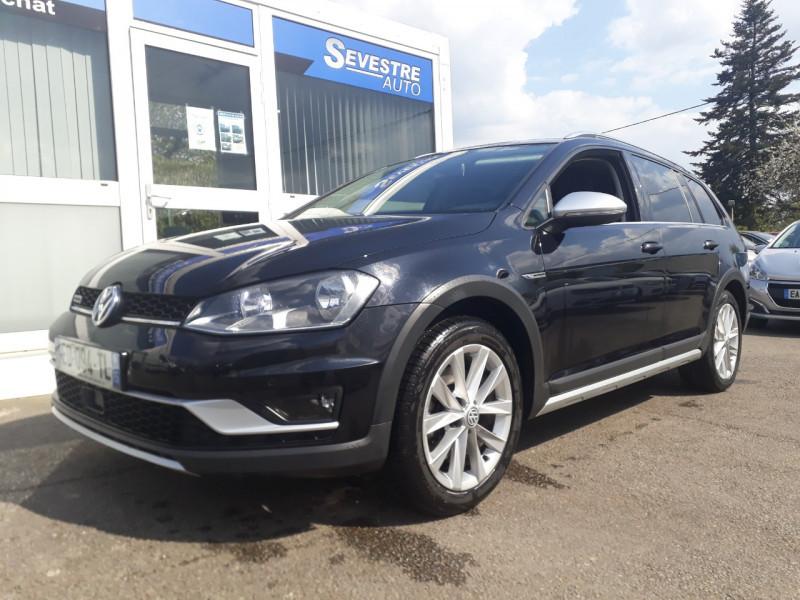 Volkswagen GOLF VII ALLTRACK 2.0 TDI 184CH BLUEMOTION TECHNOLOGY FAP 4MOTION DSG6 Diesel NOIR Occasion à vendre