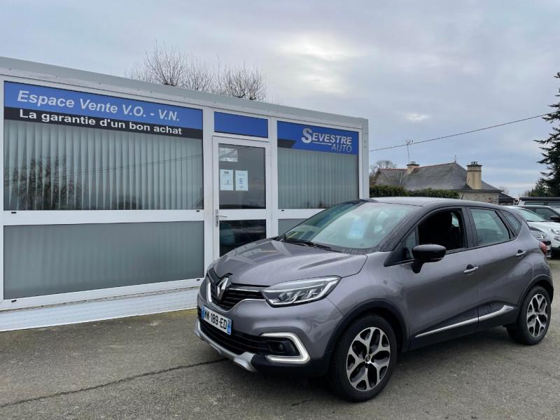 Renault CAPTUR 1.5 DCI 90CH ENERGY BUSINESS ECO² Diesel GRIS Occasion à vendre