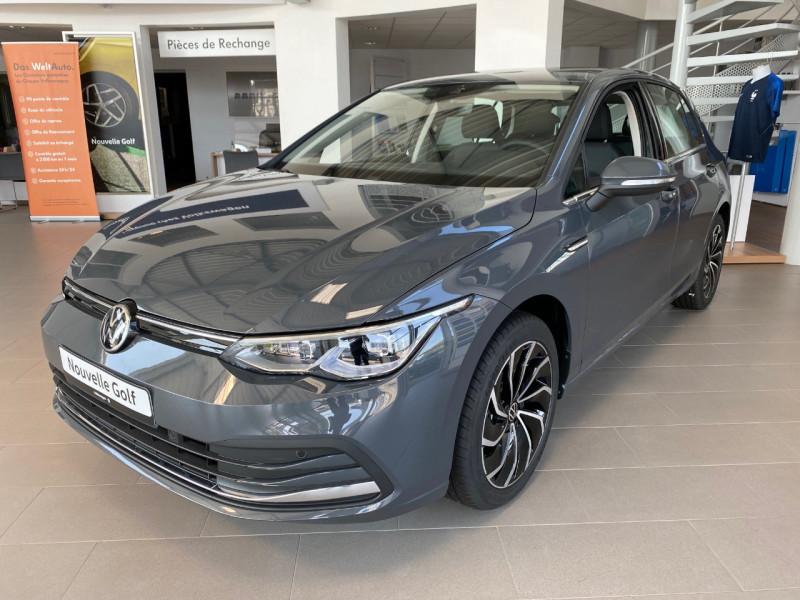 Volkswagen GOLF VIII 1.5 ETSI OPF 150CH STYLE 1ST DSG7 Essence GRIS FONCE Occasion à vendre
