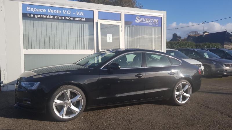 Audi A5 SPORTBACK 2.0 TDI 190CH CLEAN DIESEL AVUS MULTITRONIC EURO6 Diesel NOIR Occasion à vendre
