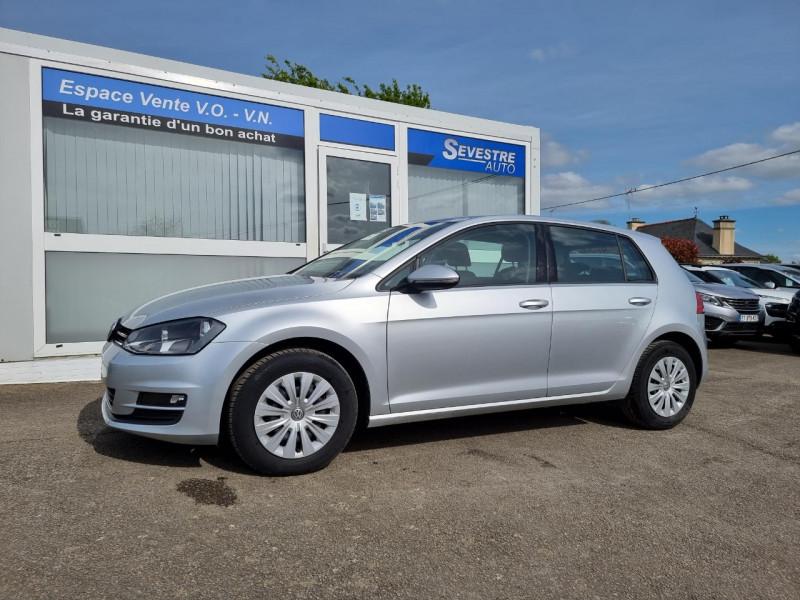 Volkswagen GOLF VII 1.6 TDI 110CH BLUEMOTION FAP TRENDLINE BUSINESS 5P Diesel GRIS CLAIR Occasion à vendre