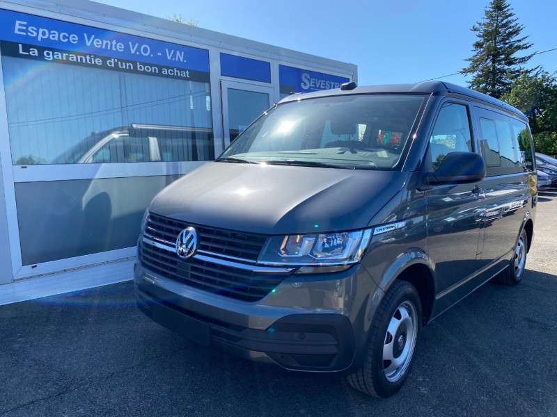 Volkswagen CALIFORNIA 2.0 TDI 150CH BLUEMOTION TECHNOLOGY COAST Diesel GRIS FONCE Occasion à vendre