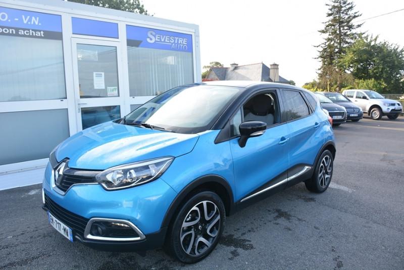 Renault CAPTUR 1.5 DCI 90CH ENERGY INTENS ECO² Diesel BLEU Occasion à vendre