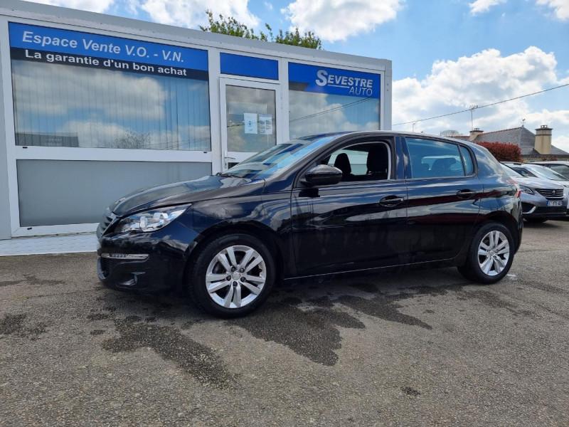 Peugeot 308 1.6 BLUEHDI 120CH ACTIVE BUSINESS S&S EAT6 5P Diesel NOIR Occasion à vendre