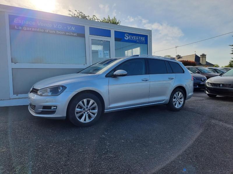 Volkswagen GOLF VII SW 1.6 TDI 110CH BLUEMOTION FAP CONFORTLINE BUSINESS Diesel GRIS CLAIR Occasion à vendre