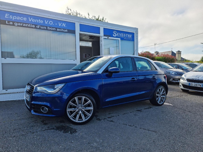 Audi A1 SPORTBACK 1.4 TFSI 122CH AMBITION LUXE Essence BLEU Occasion à vendre