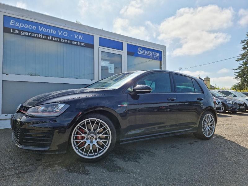 Volkswagen GOLF VII 2.0 TSI 230CH BLUEMOTION TECHNOLOGY GTI PERFORMANCE 5P Essence NOIR Occasion à vendre