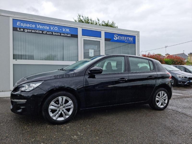 Peugeot 308 1.6 BLUEHDI 120CH ACTIVE BUSINESS S&S 5P Diesel NOIR Occasion à vendre