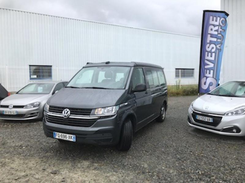 Volkswagen CALIFORNIA 2.0 TDI 150CH BLUEMOTION TECHNOLOGY COAST DSG7 EURO6D-T Diesel GRIS FONCE Occasion à vendre