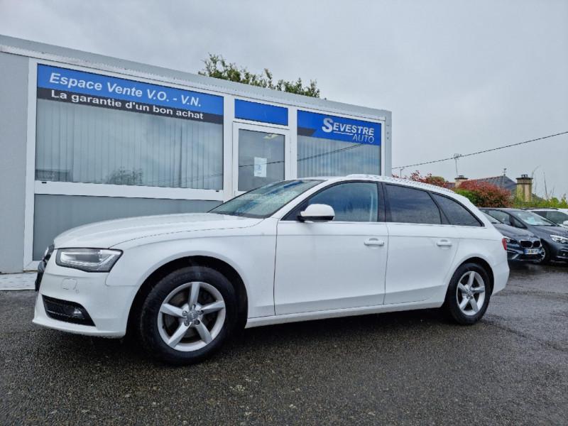 Audi A4 AVANT 2.0 TDI 190CH CLEAN DIESEL DPF AMBIENTE MULTITRONIC EURO6 Diesel BLANC Occasion à vendre